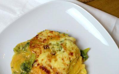 Kartoffel-Brokkoli-Auflauf | Gratin ohne Sahne