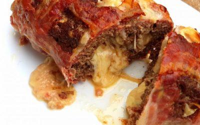 Bacon Bomb Rezept | Hackfleisch Rolle Grillrezept