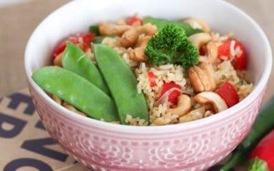 Basmati-Bowl | Reispfanne mit Gemüse