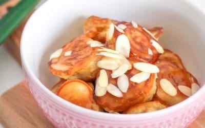 Gebackene Banane | wie beim Chinesen | ohne Ei & Fritteuse