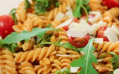 Nudelsalat mit Pesto | Vegetarisches Grillrezept