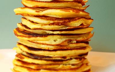 Pancake Rezept | Teig für fluffige Pancakes
