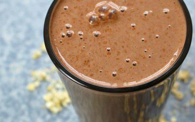 Protein Shake ohne Pulver | Gesundes Frühstück