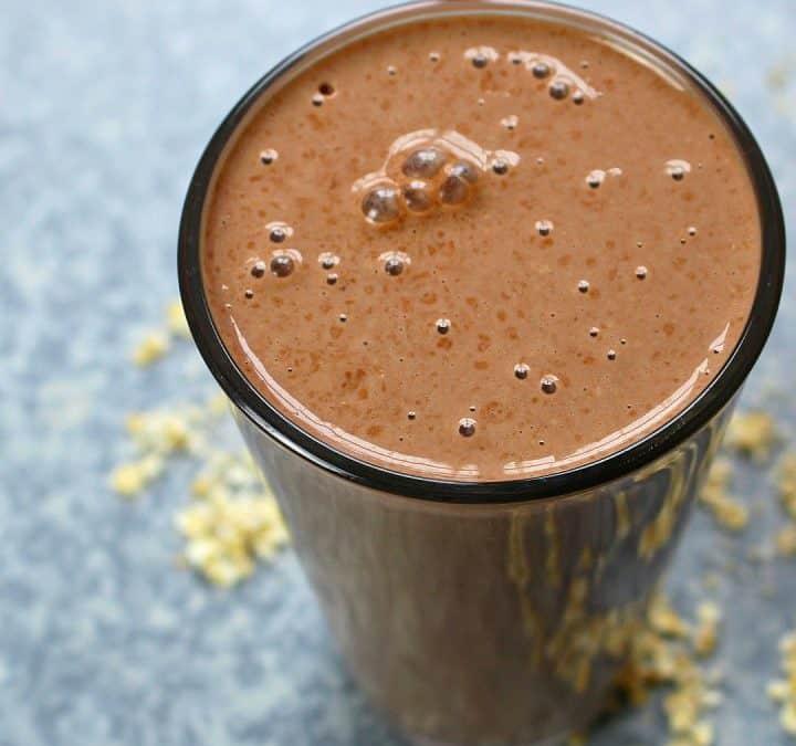 Protein Shake ohne Pulver   Gesundes Frühstück