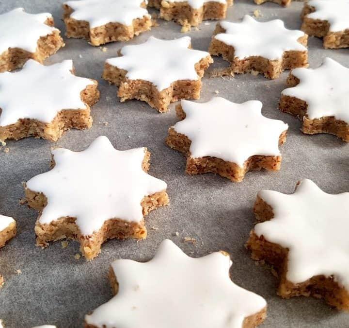 Zimtsterne backen | Rezept zu Weihnachten