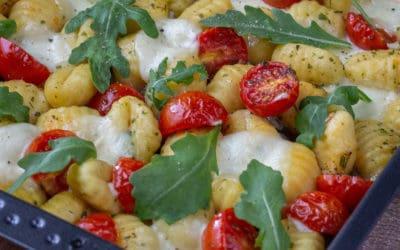 Schnelle Ofen Gnocchi