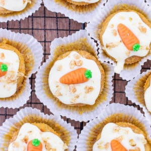 Karotten Muffins saftig